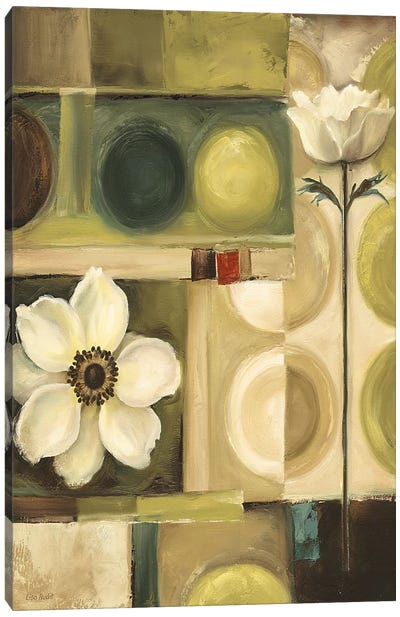 60s Bloom Canvas Print #9130