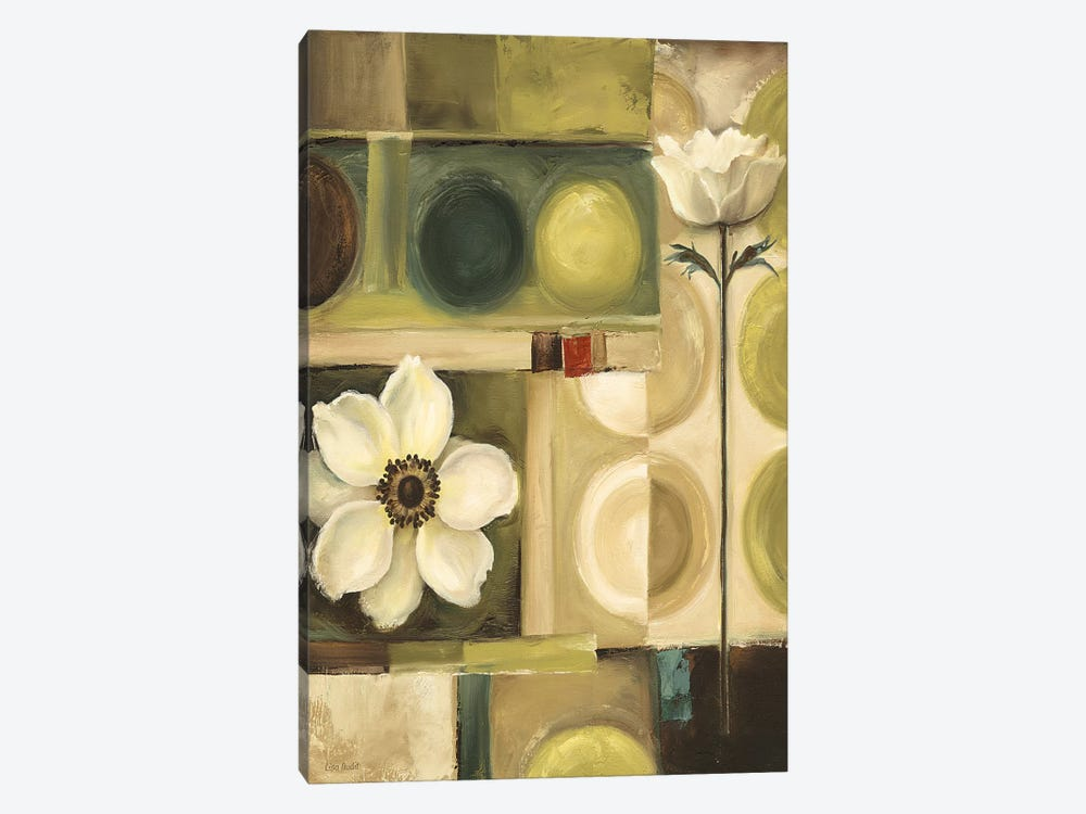 60s Bloom by Lisa Audit 1-piece Canvas Print