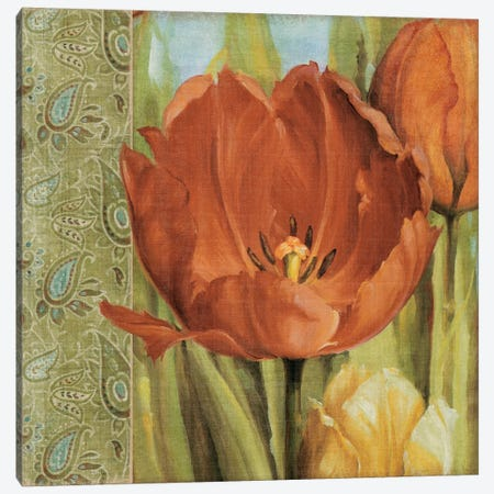 Tulip Paisley Canvas Print #9133} by Lisa Audit Canvas Print