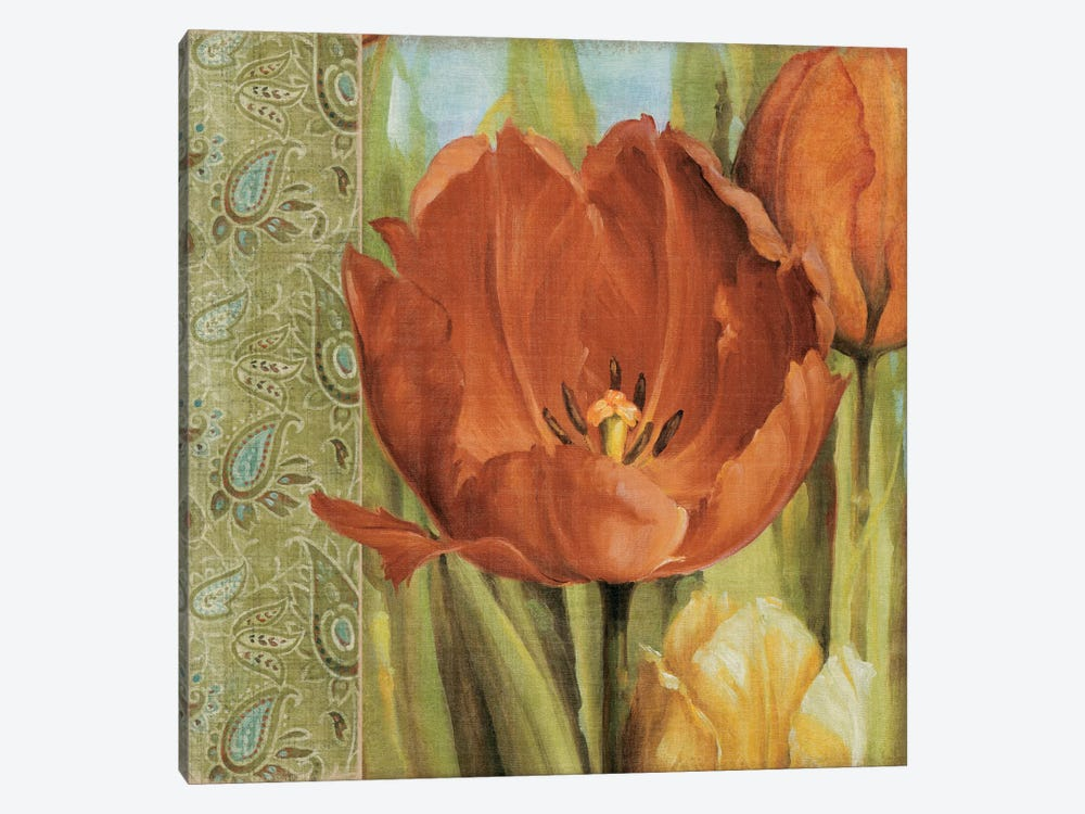 Tulip Paisley by Lisa Audit 1-piece Canvas Art