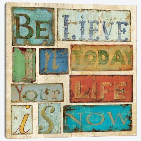 Believe & Hope Canvas Print #9137} by Daphne Brissonnet Canvas Wall Art