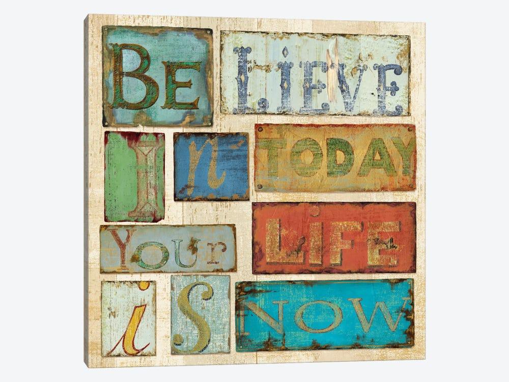 Believe & Hope by Daphne Brissonnet 1-piece Canvas Wall Art