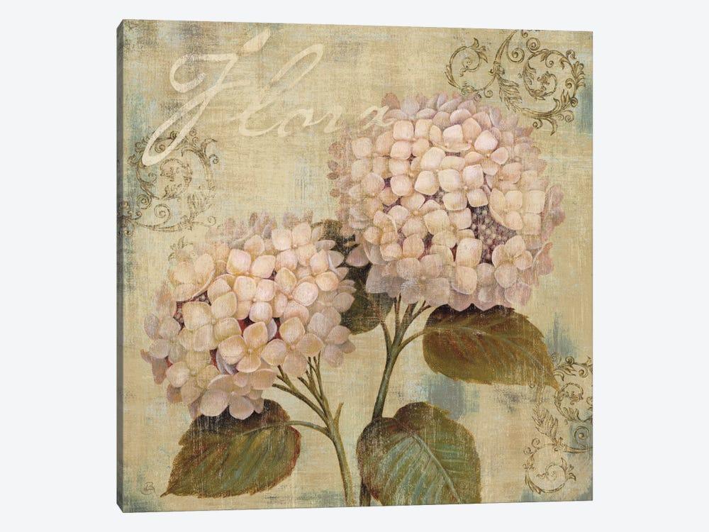 Hydrangea Wall Art ornament ii canvas art printdaphne brissonnet | icanvas