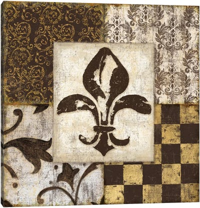 Fleur de Lis Canvas Print #9147