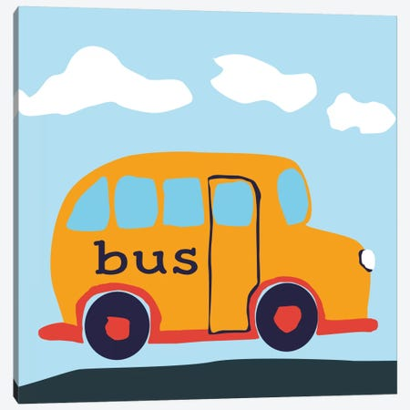 Bus BABA Canvas Print #9150} by Art Licensing Studio Canvas Print
