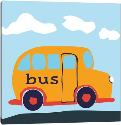 Bus BABA Canvas Art Print