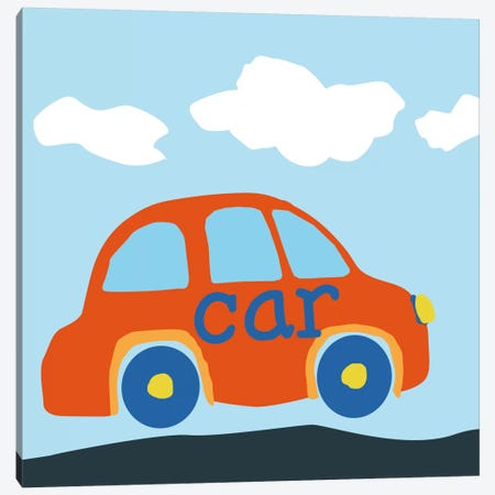 Car BABA Canvas Print #9151} by Art Licensing Studio Art Print