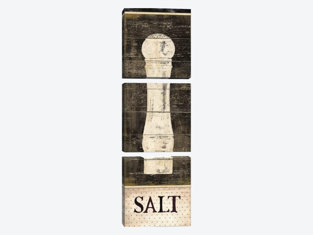 Salt & Pepper I by Daphne Brissonnet 3-piece Art Print