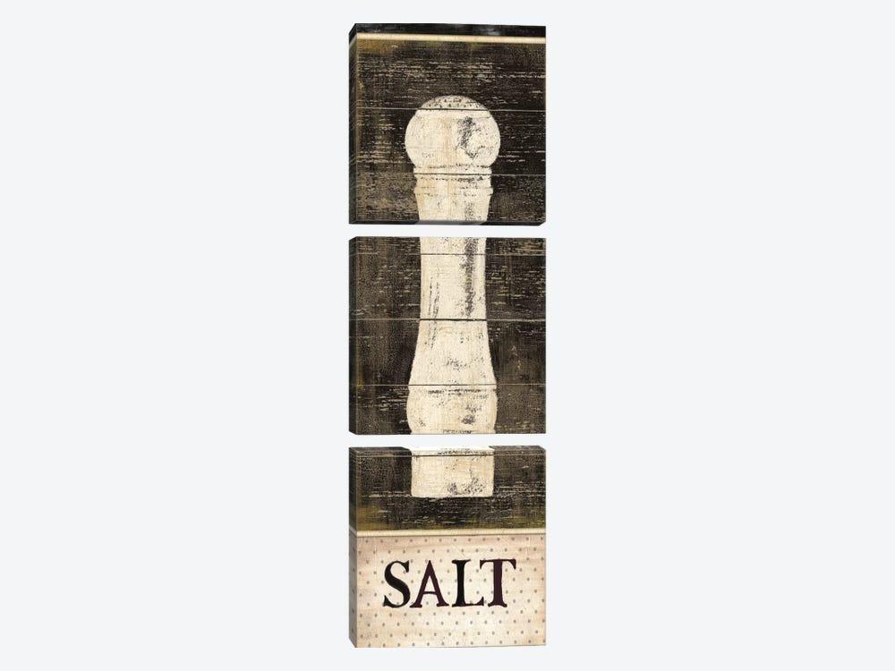 Salt & Pepper I by Daphne Brissonnet 3-piece Art Print