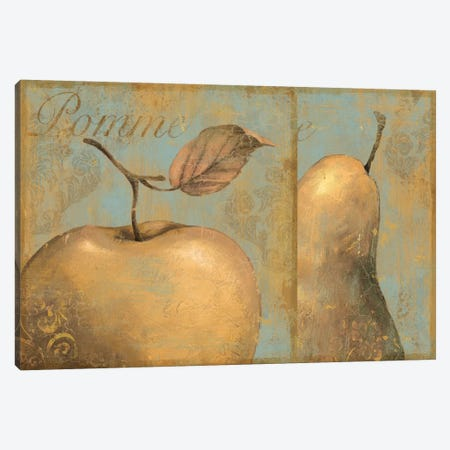 Delicious (Apple & Pear) Canvas Print #9164} by Daphne Brissonnet Canvas Print