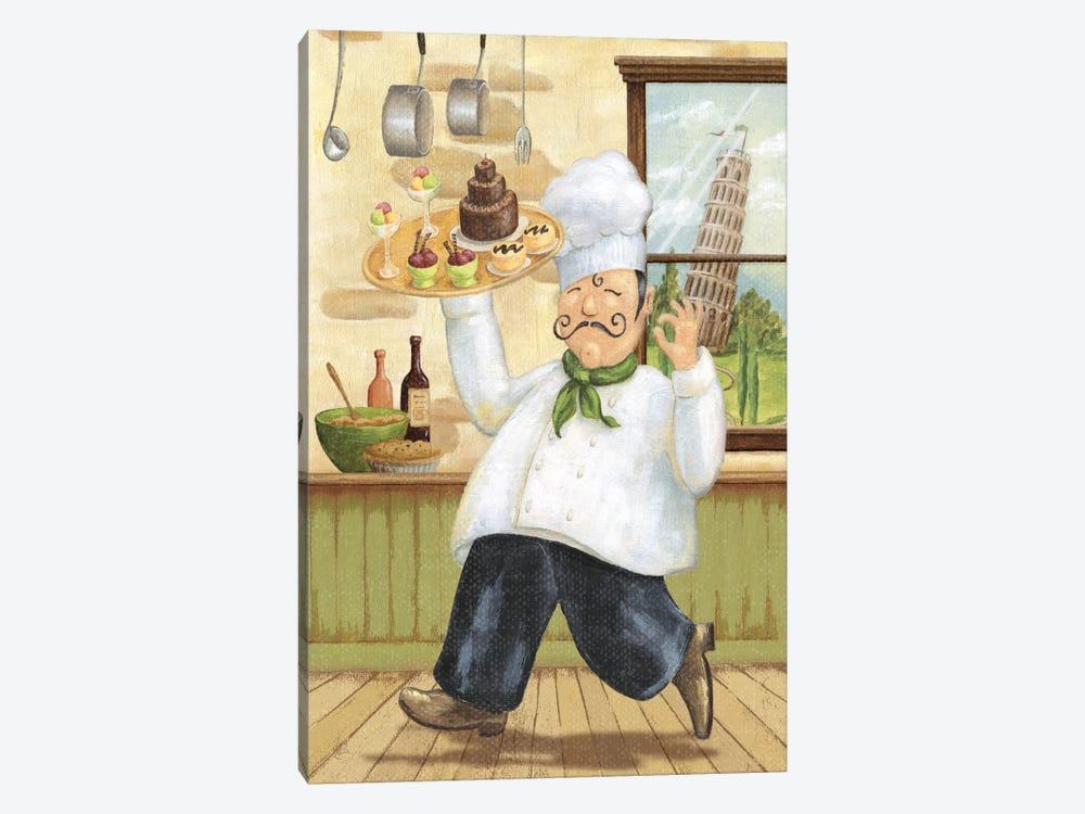 Happy Chef II by Daphne Brissonnet 1-piece Canvas Artwork
