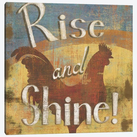 Rise & Shine Canvas Print #9167} by Daphne Brissonnet Canvas Art Print
