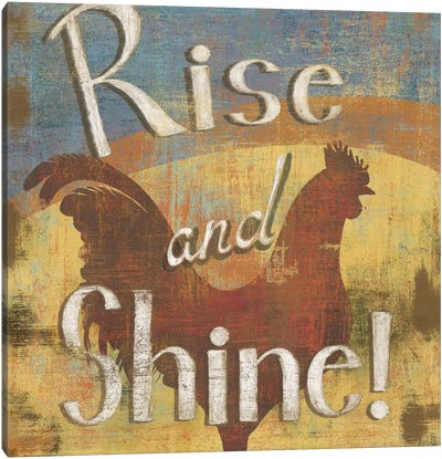 Rise & Shine Canvas Art Print