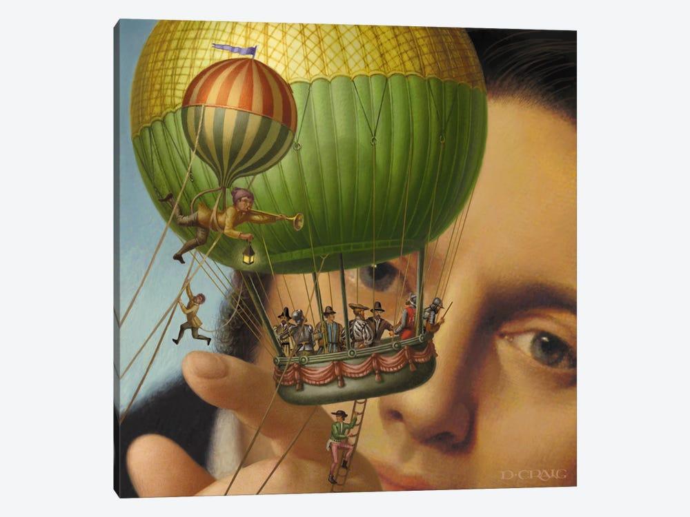 Gulliver's Travels by Dan Craig 1-piece Canvas Print