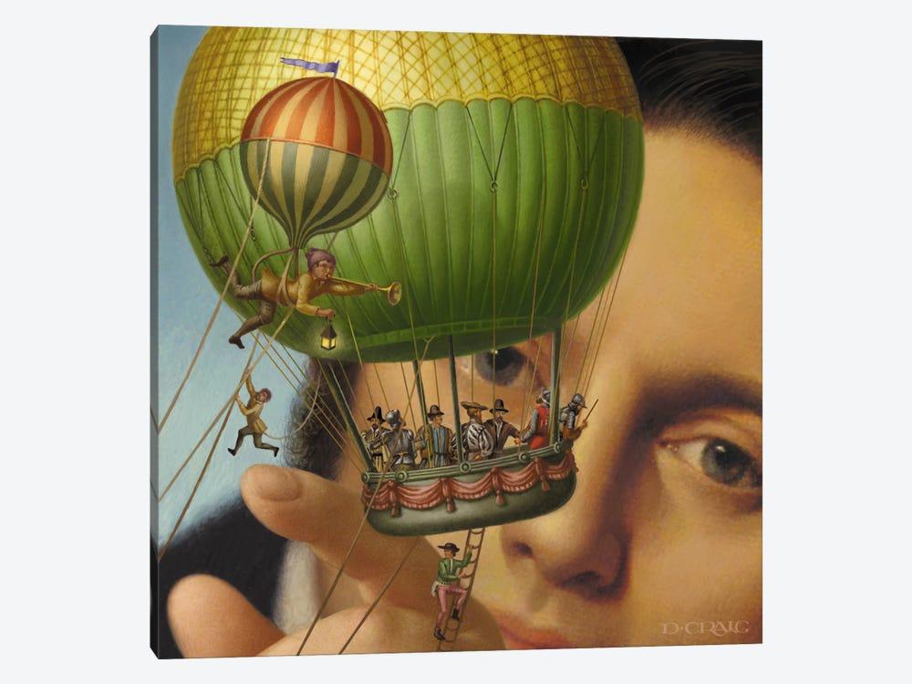 Gulliver's Travels by Dan Craig 1-piece Canvas Print
