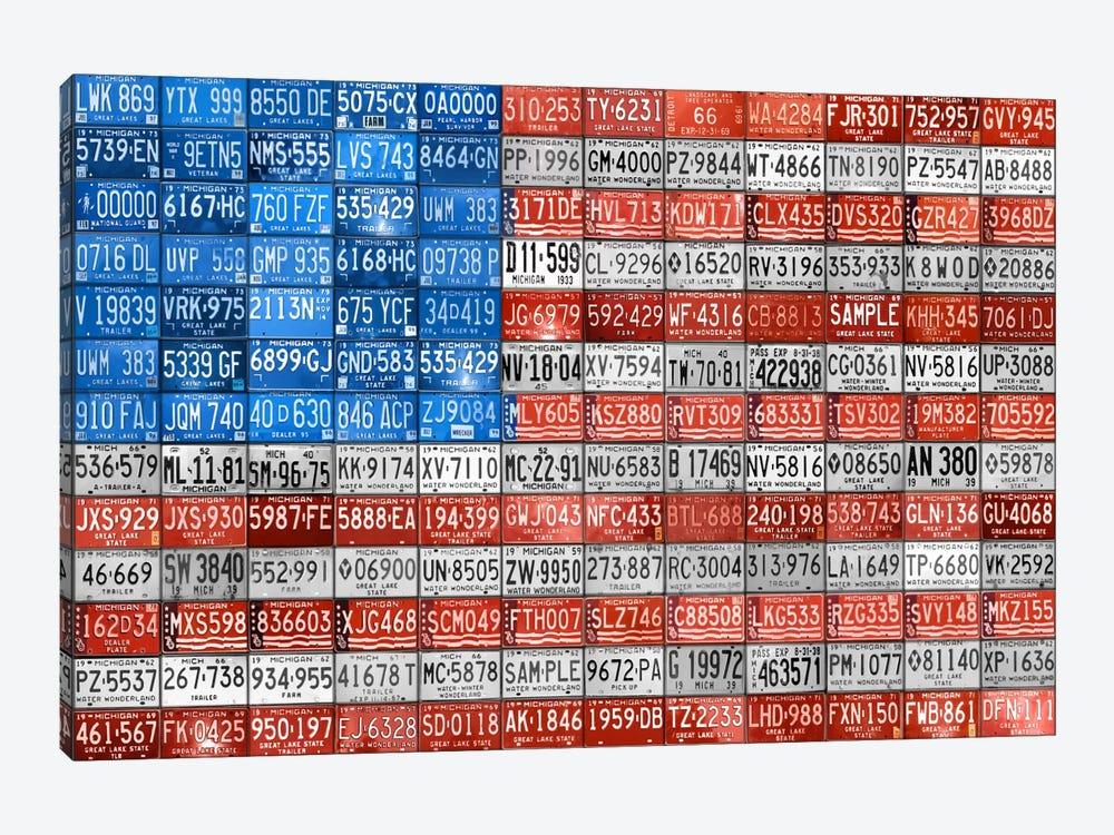 USA III by Design Turnpike 1-piece Canvas Artwork