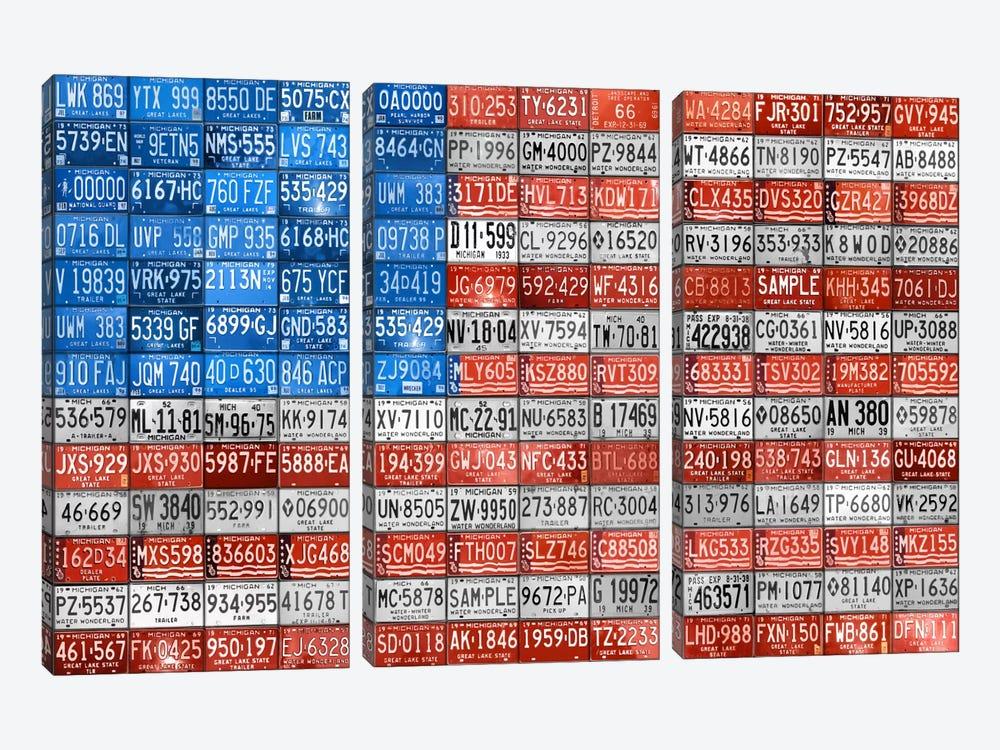 USA III by Design Turnpike 3-piece Canvas Wall Art