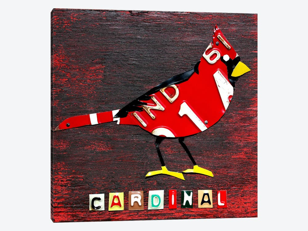 Indiana: Northern Cardinal by Design Turnpike 1-piece Art Print