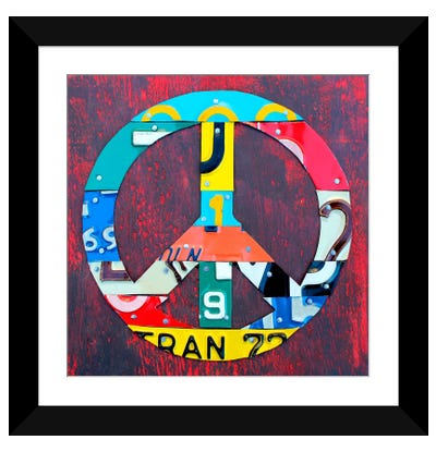 PEACE! Framed Art Print