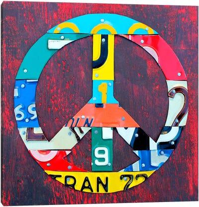 PEACE! Canvas Art Print