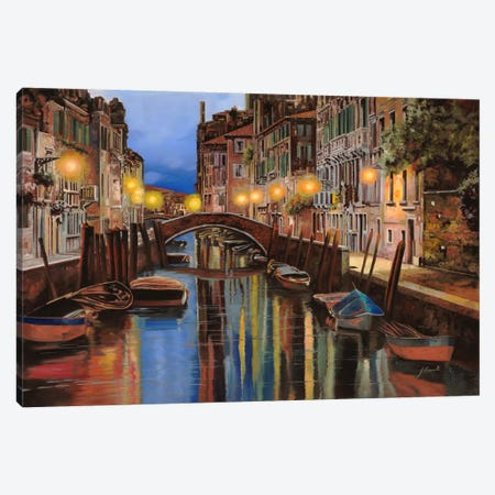 Alba a Venezia Canvas Print #9212} by Guido Borelli Canvas Art