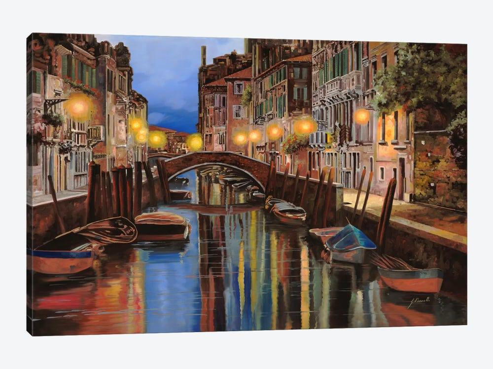 Alba a Venezia by Guido Borelli 1-piece Canvas Print