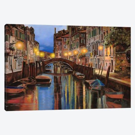 Alba a Venezia Canvas Print #9212} by Guido Borelli Canvas Art