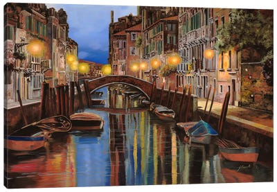 Alba a Venezia Canvas Art Print