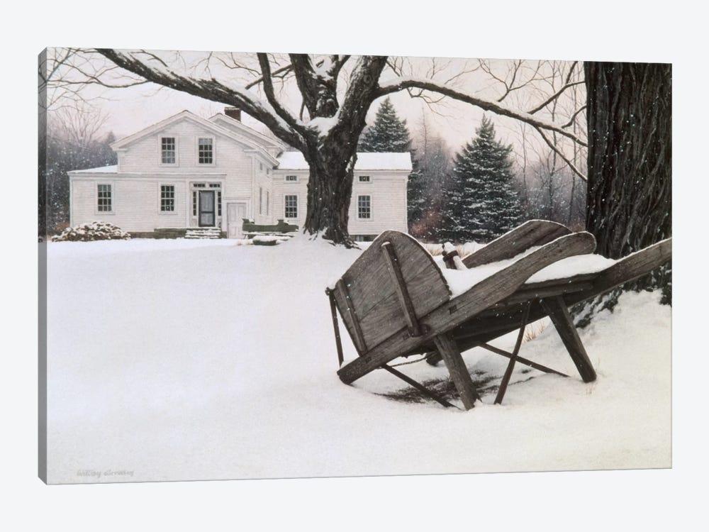Inn At Brandywine by William Breedon 1-piece Canvas Art