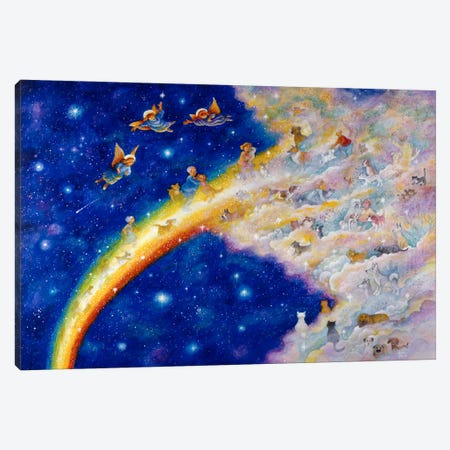 Rainbow Bridge Canvas Print #9227} by Bill Bell Canvas Wall Art