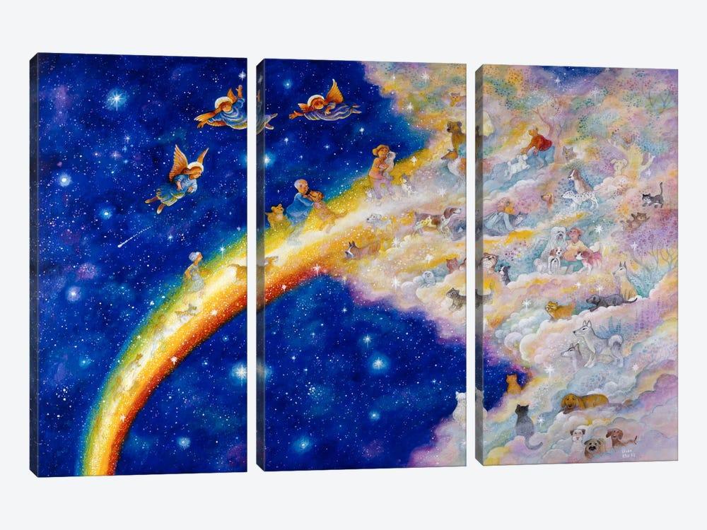 Rainbow Bridge by Bill Bell 3-piece Canvas Print