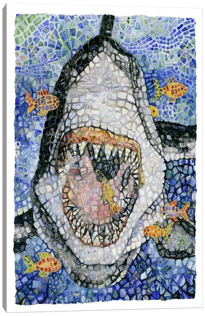 Great White (Shark) Canvas Art Print