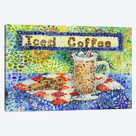 Iced Coffee Canvas Print #9237} by Charlsie Kelly Canvas Art Print