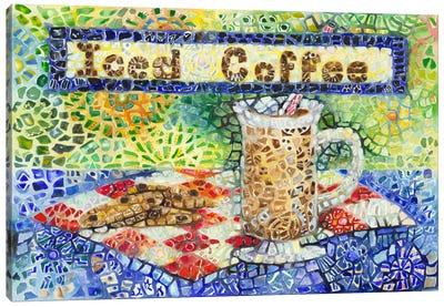 Iced Coffee Canvas Art Print