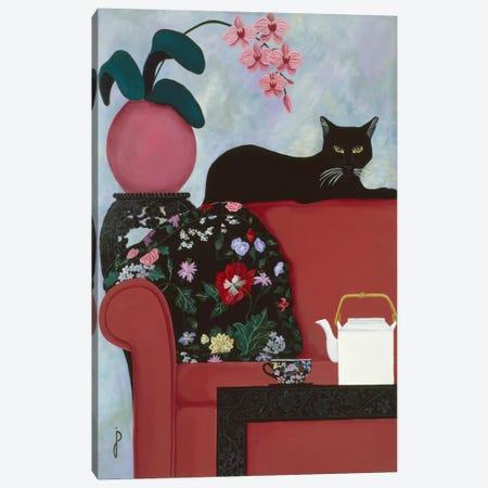 Afternoon Tea Canvas Print #9247} by Jan Panico Canvas Wall Art