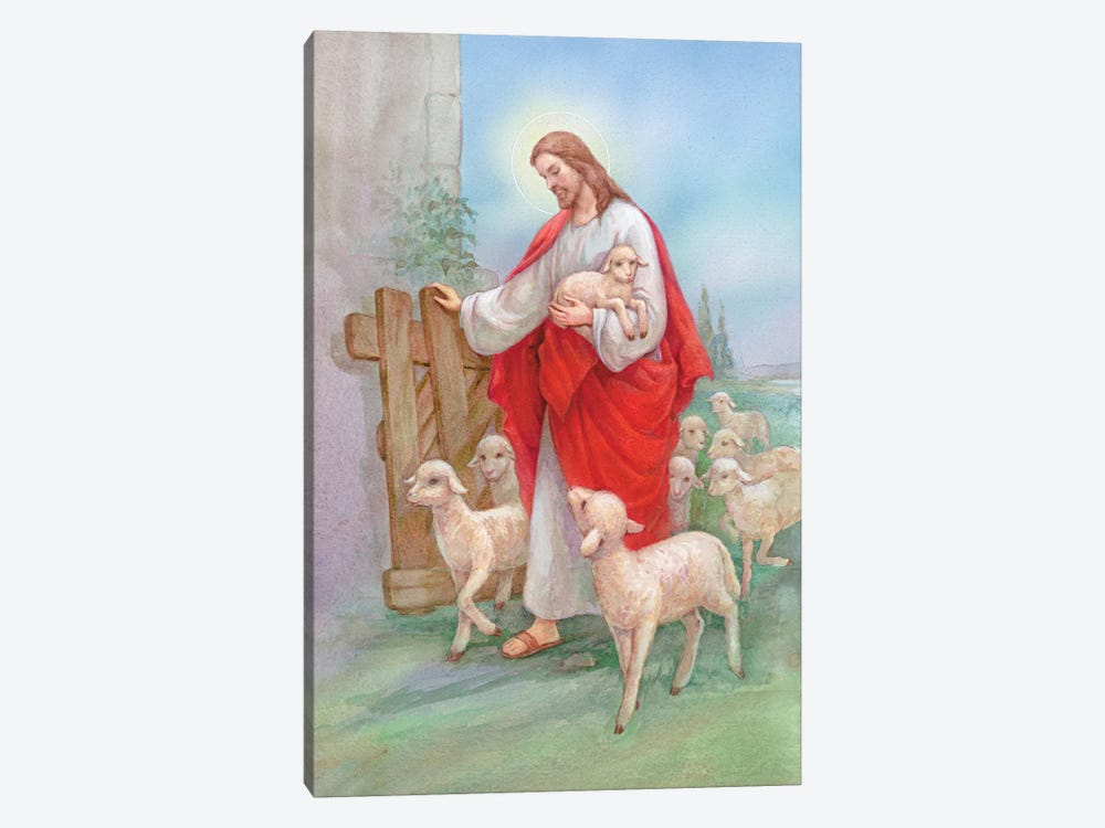 Jesus Sheperd by Christo Monti 1-piece Art Print