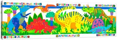 Dinosaurs Canvas Art Print
