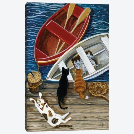 The Days Catch Canvas Print #9308} by Jan Panico Canvas Artwork