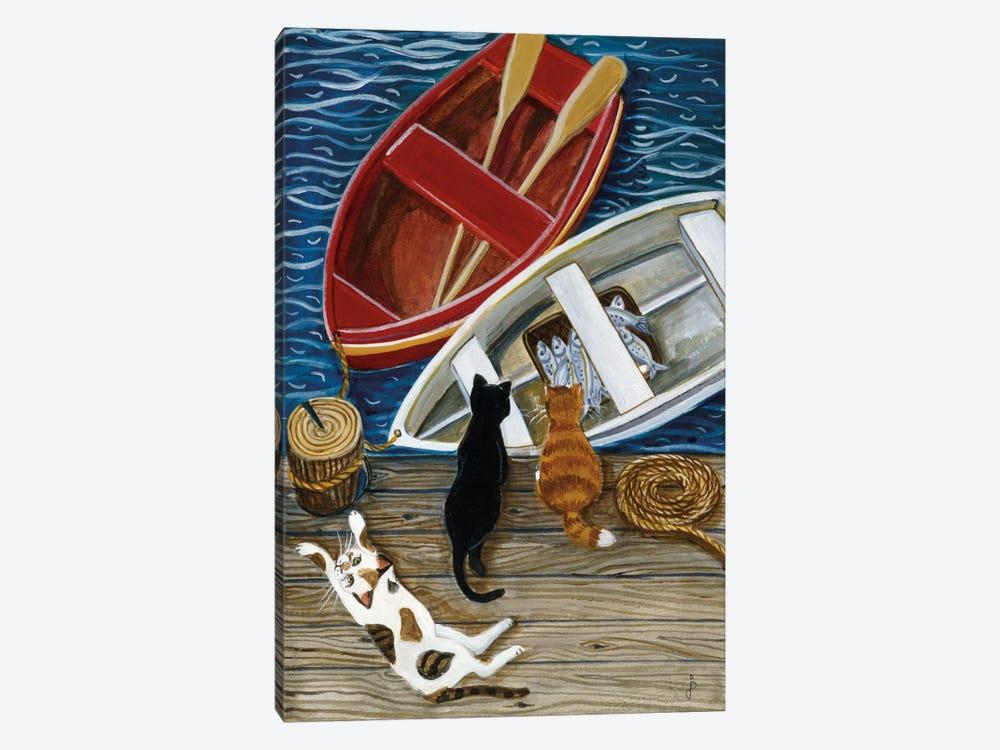 The Days Catch by Jan Panico 1-piece Canvas Art Print