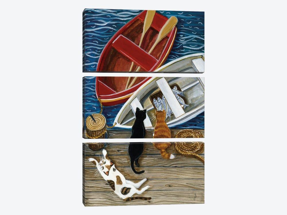 The Days Catch by Jan Panico 3-piece Canvas Art Print