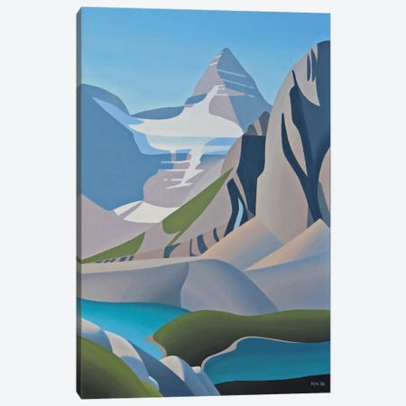 Assiniboine Canvas Print #9311} by Ron Parker Art Print