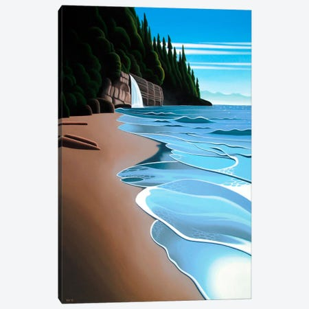 Mystic Beach Canvas Print #9312} by Ron Parker Canvas Art Print