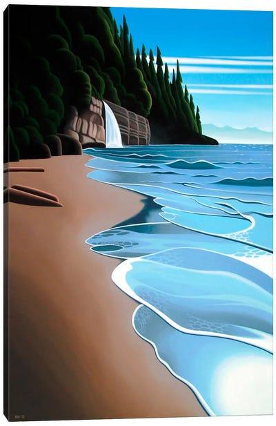 Mystic Beach Canvas Art Print
