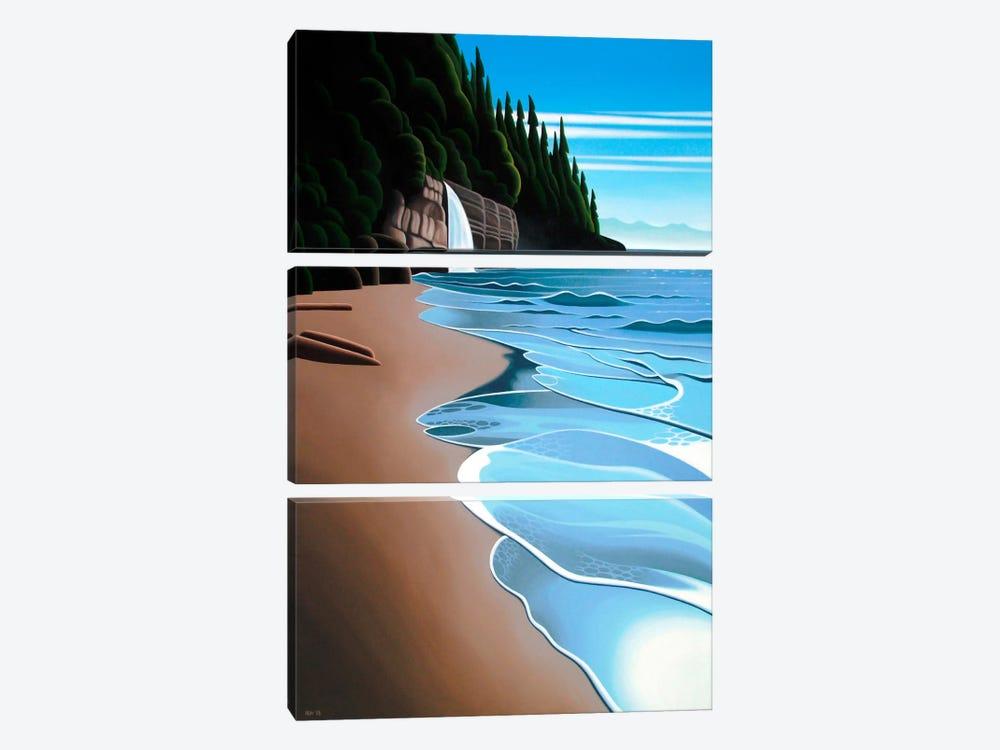 Mystic Beach by Ron Parker 3-piece Canvas Art