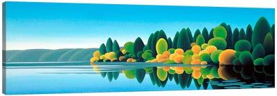 Prospect Lake Canvas Art Print