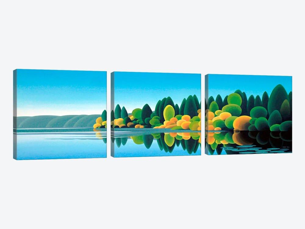 Prospect Lake by Ron Parker 3-piece Canvas Print
