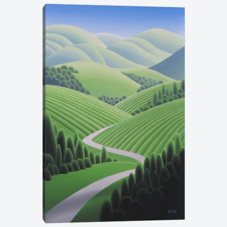 Wine Country 2 Canvas Print #9324} by Ron Parker Canvas Print