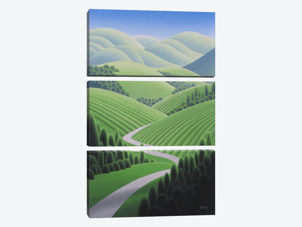 Wine Country 2 by Ron Parker 3-piece Canvas Print