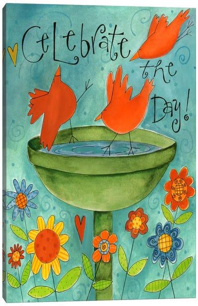 Celebrate The Day Canvas Art Print