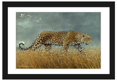 Leopard 2 Framed Art Print